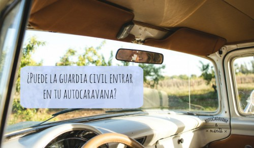 guardia civil autocaravana